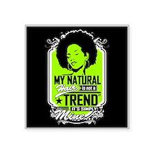 Natural Not Trend (neon) Sticker