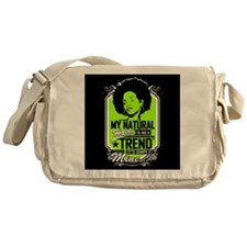 Natural Not Trend (Neon) Messenger Bag