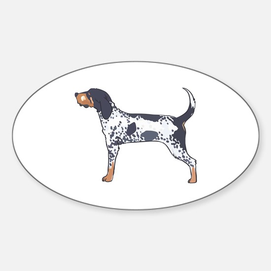 BLUETICK COONHOUND Decal