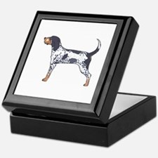 BLUETICK COONHOUND Keepsake Box