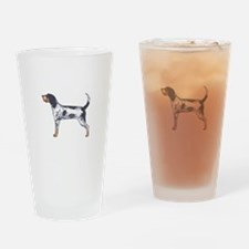 BLUETICK COONHOUND Drinking Glass