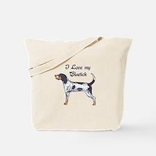I LOVE BLUETICK Tote Bag