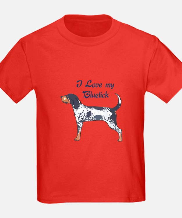 I LOVE BLUETICK T-Shirt