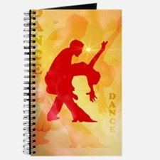 Dancing couple on a soft background Journal