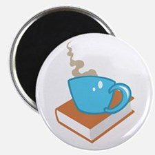 HOT COFFEE ON BOOK Magnets