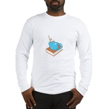 HOT COFFEE ON BOOK Long Sleeve T-Shirt