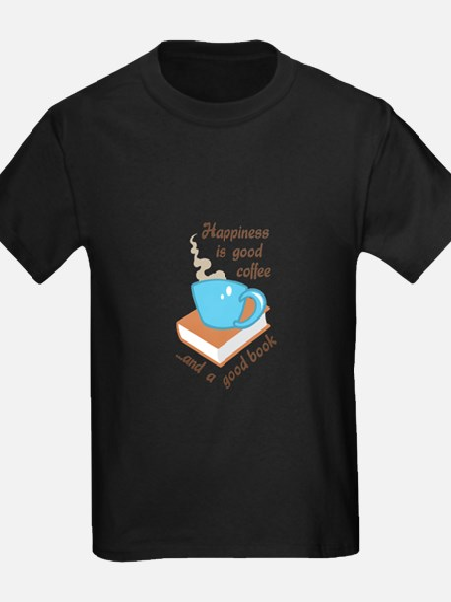 GOOD COFFEE GOOD BOOK T-Shirt