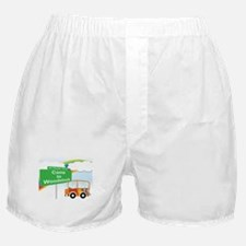 Cute Woodstock 1969 Boxer Shorts