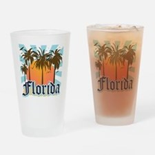 Florida The Sunshine State Drinking Glass