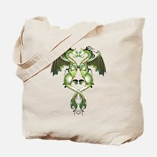 Earthen Love Dragons Tote Bag