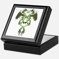 Earthen Love Dragons Keepsake Box