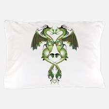 Earthen Love Dragons Pillow Case