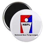 National Beer Pong League magnet