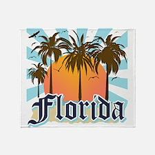 Florida The Sunshine State Throw Blanket