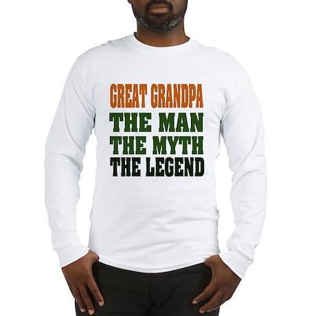 Great Grandpa - The Legend Long Sleeve T-Shirt