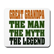 Great Grandpa - The Legend Mousepad