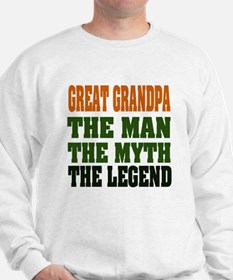 Great Grandpa - The Legend Sweatshirt
