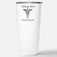 Multiple Allergies Medi Stainless Steel Travel Mug