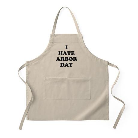 I Hate Arbor Day - BBQ Apron