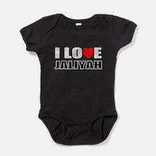 I love Jaliyah Baby Bodysuit