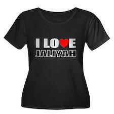 I love Jaliyah Plus Size T-Shirt