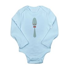 Spoon Long Sleeve Infant Bodysuit