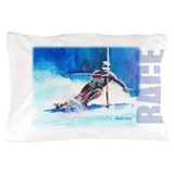 Alpine skiing Pillow Cases