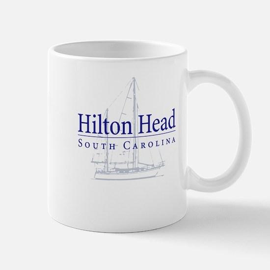 Hilton Head Sailboat Mug