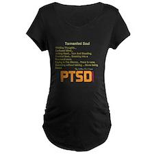 Tormented Soul Maternity T-Shirt
