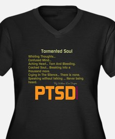 Tormented Soul Plus Size T-Shirt