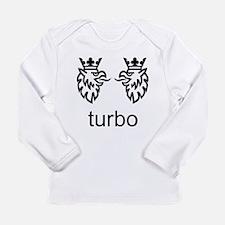 SAAB. Turbo. Born from Jets. Long Sleeve T-Shirt