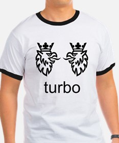 SAAB. Turbo. Born from Jets. T-Shirt