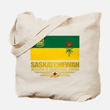 Saskatchewan Flag Tote Bag
