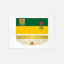 Saskatchewan Flag 5'x7'Area Rug