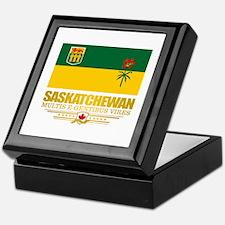 Saskatchewan Flag Keepsake Box
