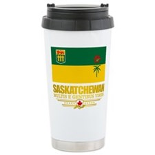 Saskatchewan Flag Travel Mug