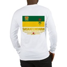 Saskatchewan Flag Long Sleeve T-Shirt