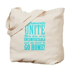 Introverted Introverts Tote Bag