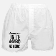 Introverted Introverts Boxer Shorts