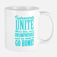 Introverted Introverts Mugs