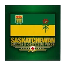 Saskatchewan Flag Tile Coaster