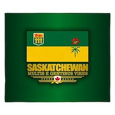 Saskatchewan Flag King Duvet