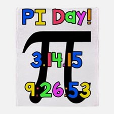 PI Day! Throw Blanket