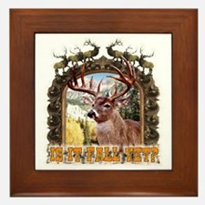 is it fall yet, yes the seaso Framed Tile