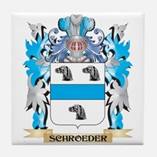 Schroeder Coat of Arms - Family Crest Tile Coaster