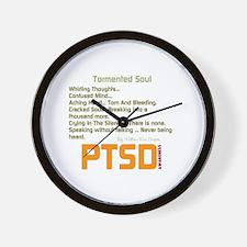 Tormented Soul Wall Clock