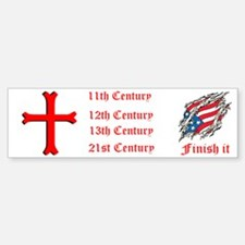 Finish It Bumper Bumper Sticker