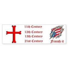 Finish It Bumper Sticker