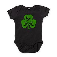 Skully Shamrock Baby Bodysuit