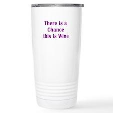 Unique Wine Travel Mug